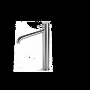 Vema Tiber Steel Miscelatore Monocomando Lavabo a Collo Alto