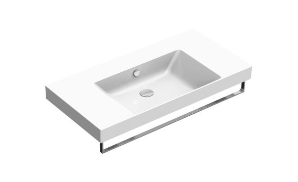 Catalano Lavabo 100x50 Zero Bianco Con Piani New