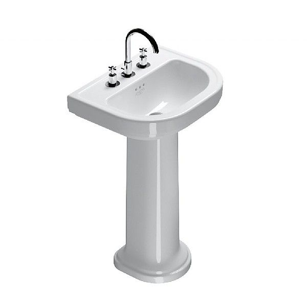 Catalano Lavabo Canova Royal 56 Su Colonna In Ceramica