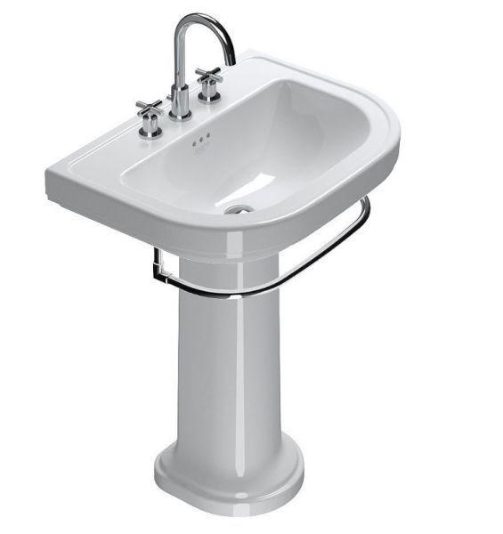 Catalano Lavabo Canova Royal 70 Su Colonna In Ceramica