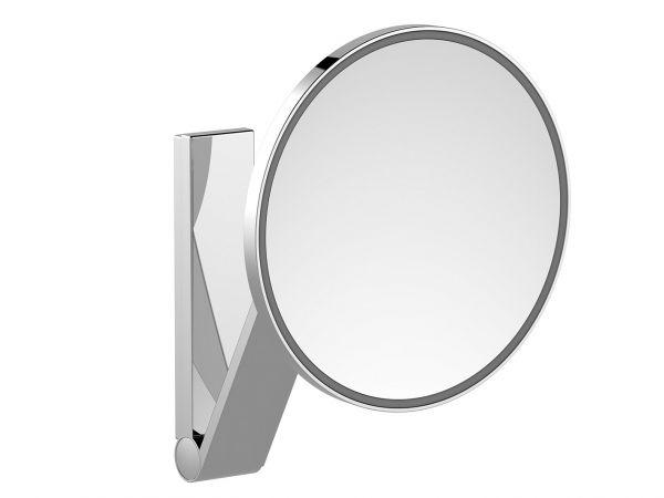 Keuco Specchio Ingranditore Ilook_move Rotondo  Con Illuminazione Diametro 212 Mm