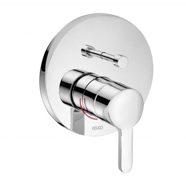 Keuco Elegance Miscelatore Monocomando Per Vasca Up 51672 010281