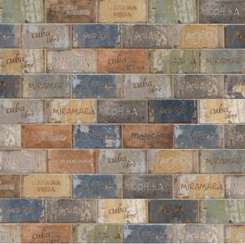 Cir Rivestimento Cuba Libre Mix 10x20 cm