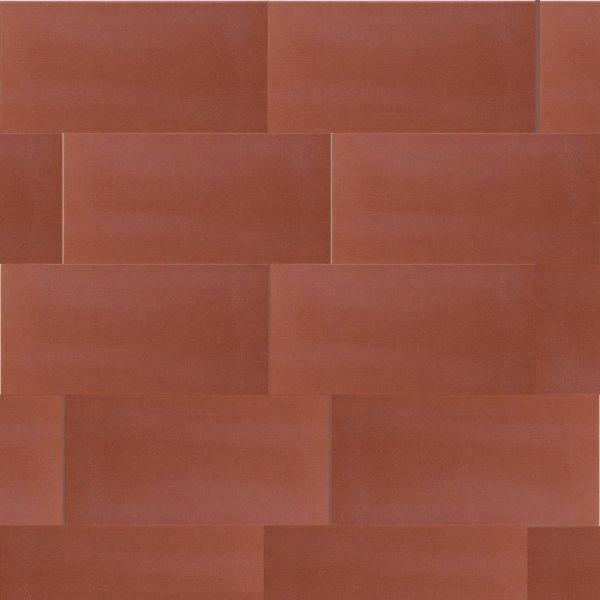 Cipa Ceramiche Gres Rosso 7,5x15 Pavimento Da Esterno