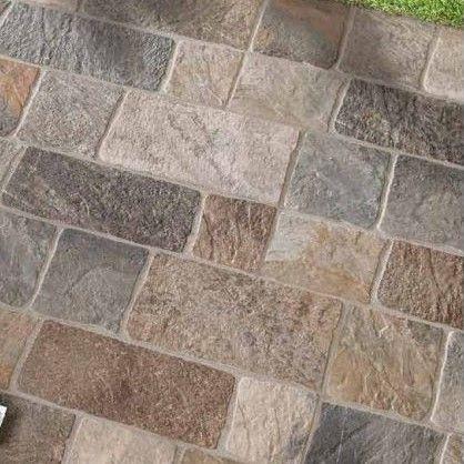 Pavimento Per Esterno Ceramica Mediterranea Pedra Multicolor  30,2x60,4 cm