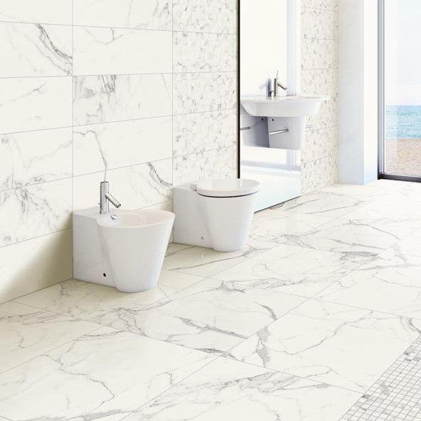 Gres Porcellanato Effetto Marmo La Fenice Prestige Bianco Statuario 60x60