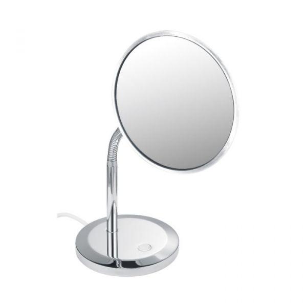 Keuco Specchio Ingranditore Elegance Rotondo Con Illuminazione Modello Da Appoggio